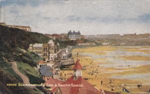 SCARBOROUGH, Yorkshire, England, 1900-1910's; Scarborough Spa & South Sands