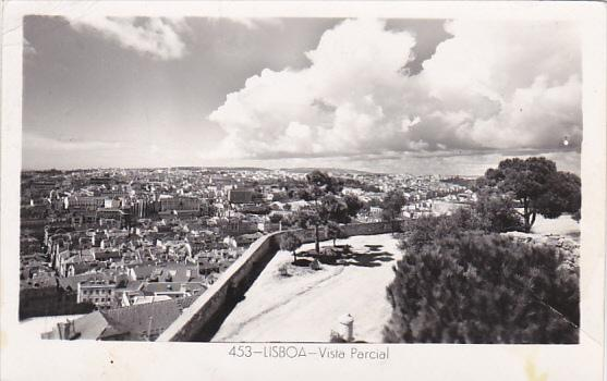 Portugal Lisboa Vista Parcial Real Photo