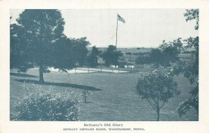 Womelsdorf PA Bethany's Old Glory Bethany Orphans' Home Postcard