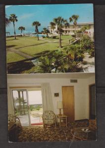 Sails & Gulf Terrace Motel, St Perersburg, Forida - Unused c1960
