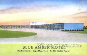 Blue Amber Motel in Cape May, New Jersey