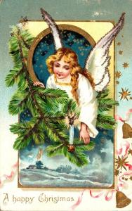 Tucks A Happy Christmas With Angel 1906