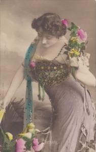RP (tinted) , Female Torso portrait #2 , 00-10s ; Canada publisher Warwick Br...