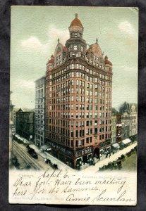 5241 - CHICAGO 1906 Columbus Memorial Building. Flag Cancel