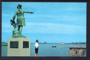Statue of Jean Rochambeau,Newport,RI