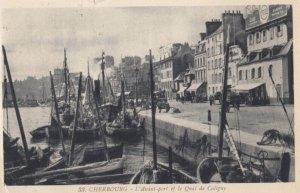 CHERBOURG, Manche, France, 1935 ; L'Avant-port
