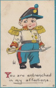 AS WALL ; Soldier Boy , You are entrenched in my affections , 1913