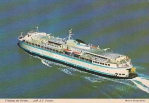 Canada British Columbia Ferries Cruising The Straits