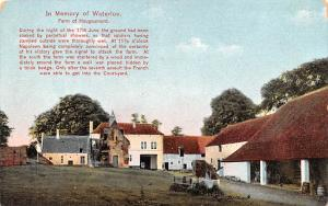 Waterloo Belgium, Belgique, Belgie, Belgien Farm of Hougoumont Waterloo Farm ...