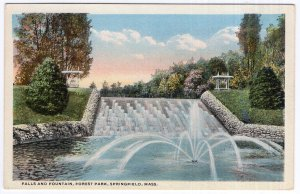 Springfield, Mass, Falls and Fountain, Forest Park