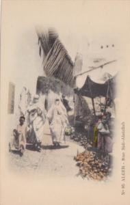 Algeria Alger Rue Sidi-Abdallah Street Scene