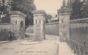 LANGRES, France, 1900-10s; Porte des Auges