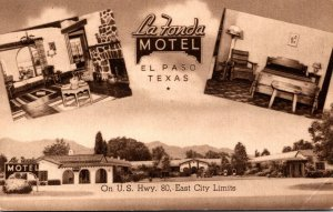 Texas El Paso La Fonda Motel