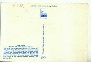 Railway Postcard - Royal Saloon - London and North Western Railway - Ref 20314A