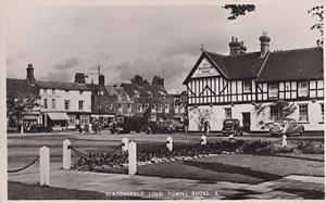 The Saracens Head Pub Public House Beaconsfield Buckinghamshire Photo Postcard