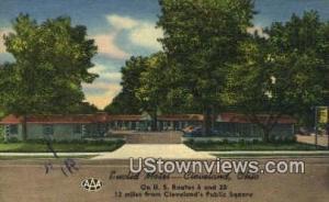 Euclid Motel Cleveland OH Unused