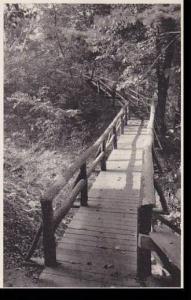 Wisconsin Menomonie Rustic Bridge Albertype