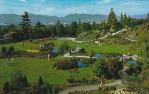 Canada Rock Gardens Queen Elizabeth Park Vancouver British Columbia