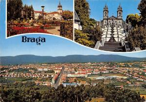 Portugal Braga City general view, Vue generale de la ville