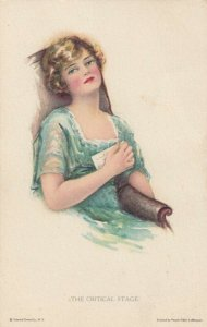 AS: LeMunyan, AMERICAN GIRL #86, The Critical Stage Letter, 1910-20s
