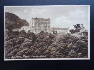 Devon LYNTON The Royal Castle Hotel c1907 Postcard by Frith