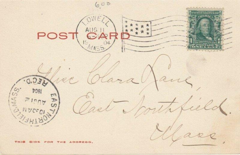 LOWELL , Massachusetts, 1904; Pawtucket Falls, Merrimack River