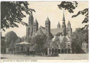 Vrijthof Met St Servatius,MAASTRICHT, Netherlands, PU-1946 ADV for Hotel DU C...
