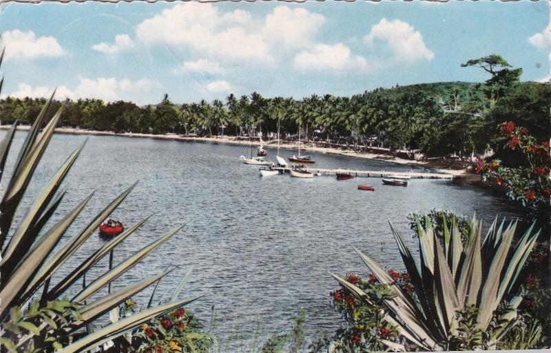 RP: MARTINIQUE - Pier & Beach , Anse Mittan Inn, 1963