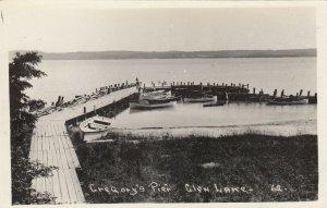 RP: GLEN LAKE , Michigan , 1930s ; Gregory's Pier
