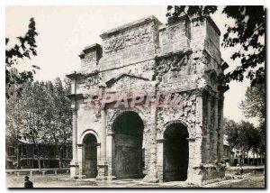 Postcard Modern Roman Provence Orange Triumphal Arch Facade South and East