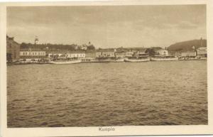 finland suomi, KUOPIO, Panorama from the Sea (1920s)