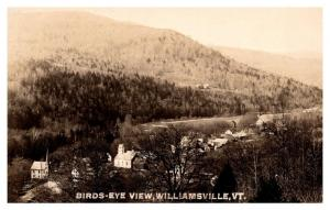 Aerial View of Williamsville Vermont , RPC