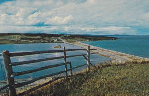 Near STEPHENVILLE, Newfoundland, Canada, 1940-1960's; Port Au Port Peninsula
