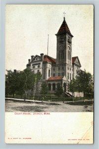 Detroit MN-Minnesota, Courthouse, Vintage c1907 Postcard