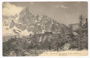 Aiguille du Dru, chemin de fer et Hotel du Montenvers, France, 00-10s