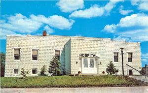 Bigfork MN North Itasca Hospital Doctor's Clinic Postcard