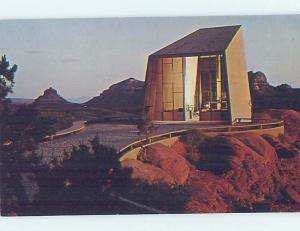 Unused Pre-1980 CHURCH SCENE Sedona - Near Flagstaff Arizona AZ G2983