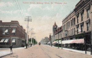 ST THOMAS , Ontario , Canada , 1908 ; Talbot Street