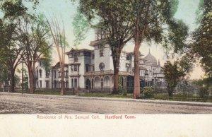HARTFORD,  Connecticut, 1900-10s; Residence of Mrs. Samuel Colt
