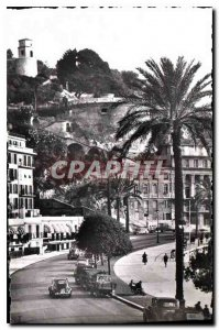 Postcard Old Nice A M Lift the Chateau view of the Lesage Montee Bellanda Tow...