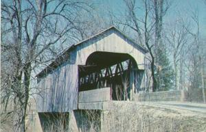 Pipe Stem Covered Bridge near Milan, Ripley County IN, Indiana