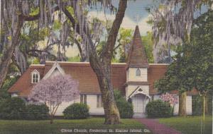 Christ Church Frederica, St. Simons Island, Georgia, 30-40s