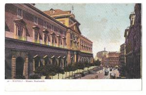 Italy Napoli Museo Nazionale Naples National Museum Postcard