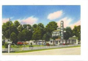 Bennett Motor Court, Lumberton, North Carolina, 1940-1960s