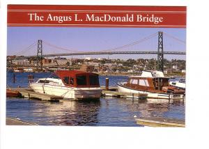 Angus L MacDonald Bridge, Dartmouth Halifax Nova Scotia, Photo Charles Burchell