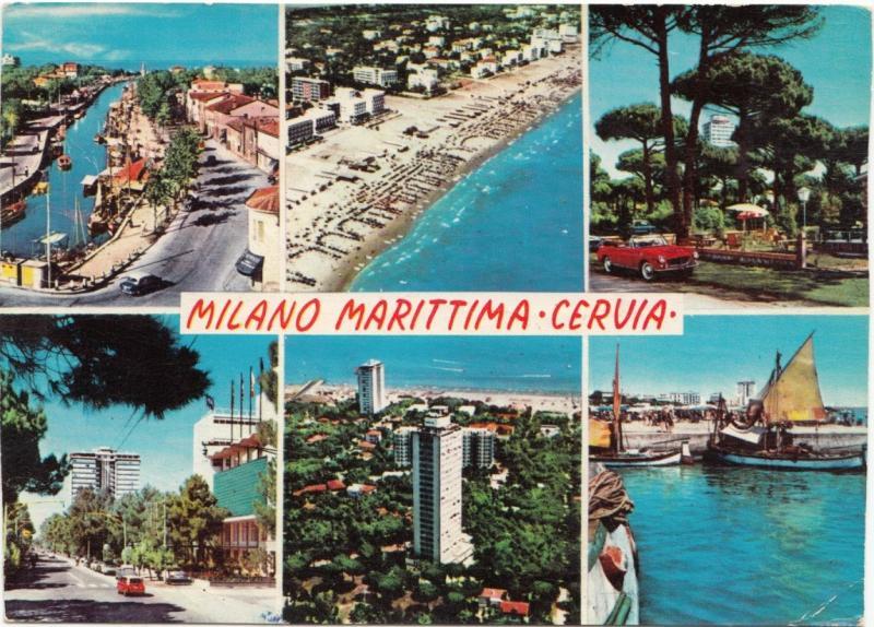 MILANO MARITTIMA CERVIA, Italy, 1965 used Postcard | Europe - Italy -  Emilia-Romagna - Ravenna, Postcard / HipPostcard