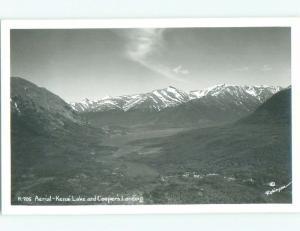 old rppc NICE VIEW Kenai Lake - Near Anchorage Alaska AK i8574