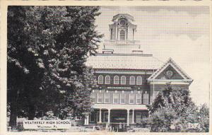 Pennsylvania Weatherly High School Dexter Press