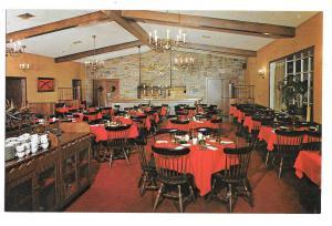 PA Pottstown Restaurant Sunnybrook Ballroom Colonial Room Rte 422 Vtg Postcard