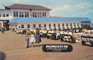 OCEAN GROVE, New Jersey; Homestead Restaurant, North End Boardwalk, 40-60s